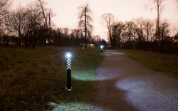 ActiveLights Solar 1.0 Lagunestien ud for Bremdal Strand 2017
